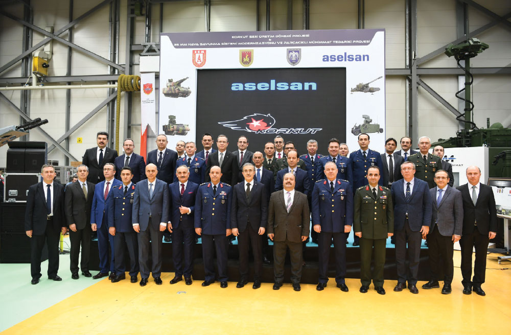 Aselsan Launched the Serial Production of Missile Hunters