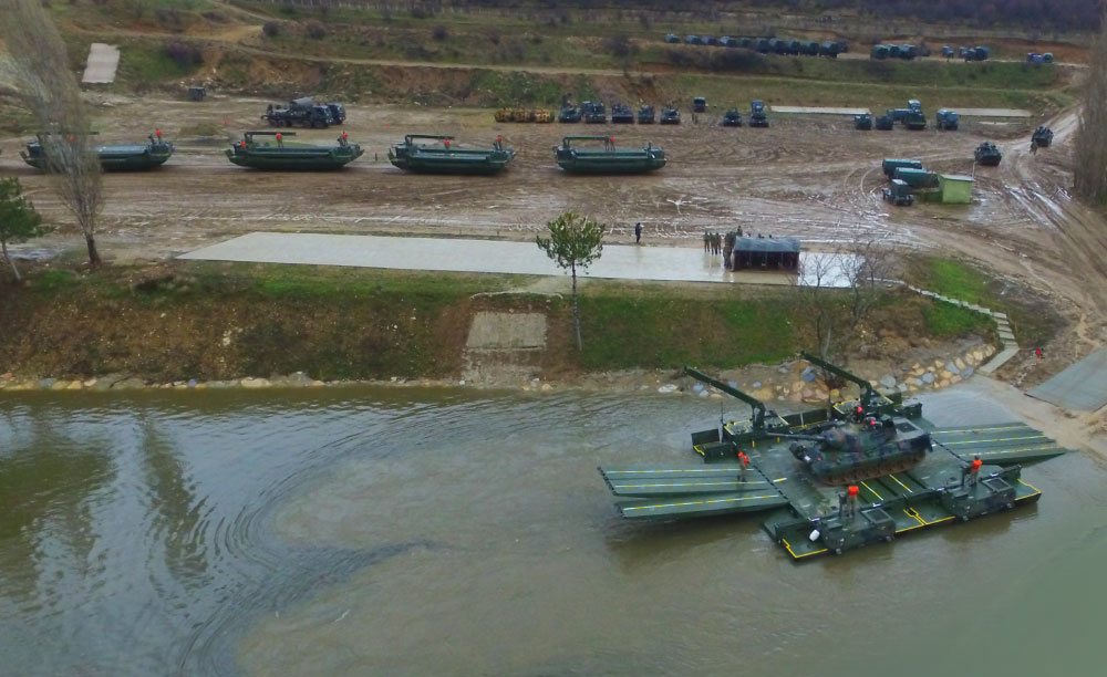 "FNSS Armored Vehicles Successfully Execute ""Passage from Deadwater"" Drill"
