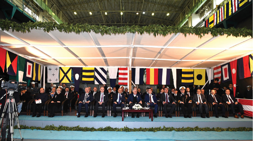 New Type Submarine Project's 3rd Vessel 'Murat Reis' First Welding Ceremony Takes Place in Gölcük