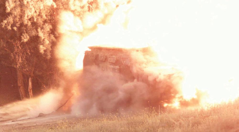 """Hızır"" Armored Combat Vehicle Successfully Completes Blast Tests"