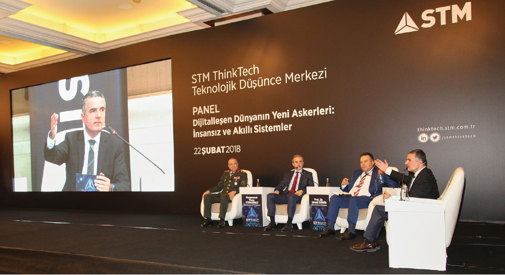 """Unmanned and Smart Systems in the Military"" Discussions Took Place at Turkey's Technology Based Think Tank 'STM ThinkTech'"