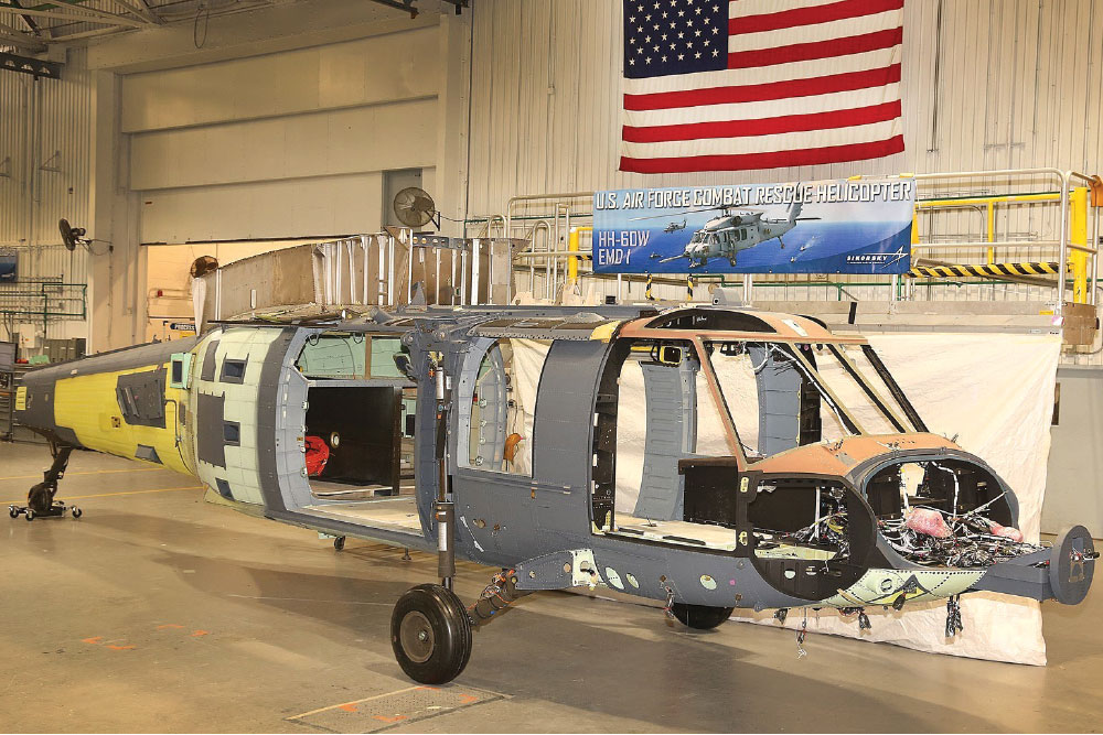 First Sikorsky Combat Rescue Helicopter Enters Final Assembly