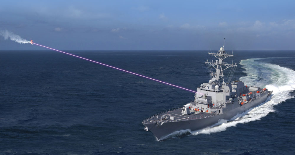 Lockheed Martin Receives $150 Million Contract to Deliver Integrated High Energy Laser Weapon Systems to U.S. Navy