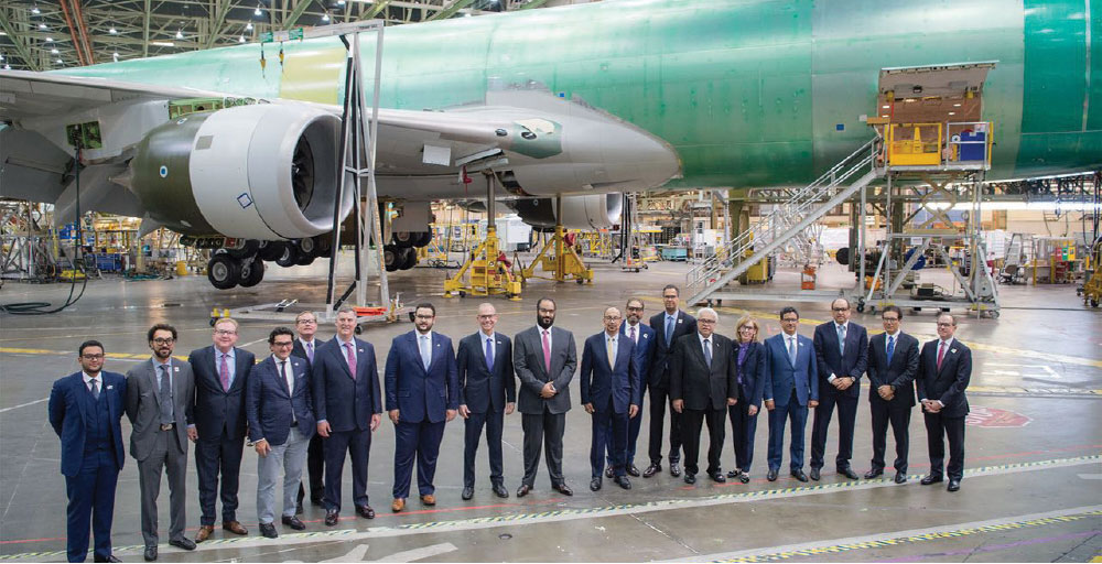 Saudi Arabian Military Industries and Boeing Form Joint Venture Partnership Targeting 55% Localization