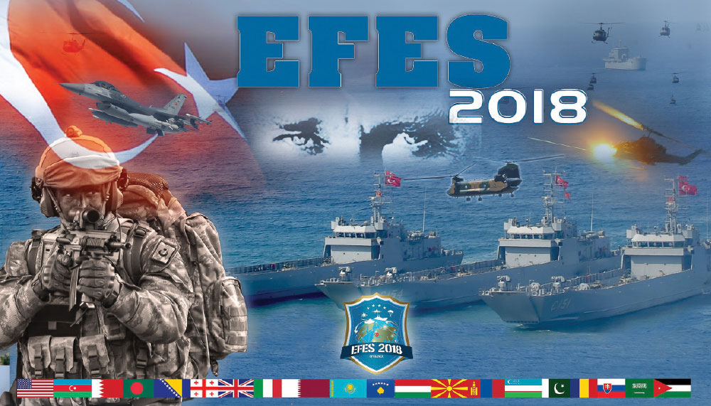 "EFES-2018 Combined Joint Live Fire Exercise ""Distinguished Observer Day"" Successfully Accomplished"