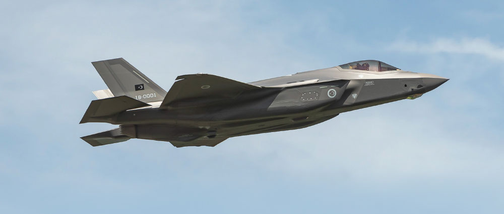 TurAF F-35A Makes its Maiden Flight