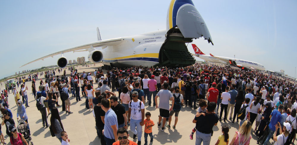 Eurasia Air Show Takes Place in Antalya 25th-29th of April