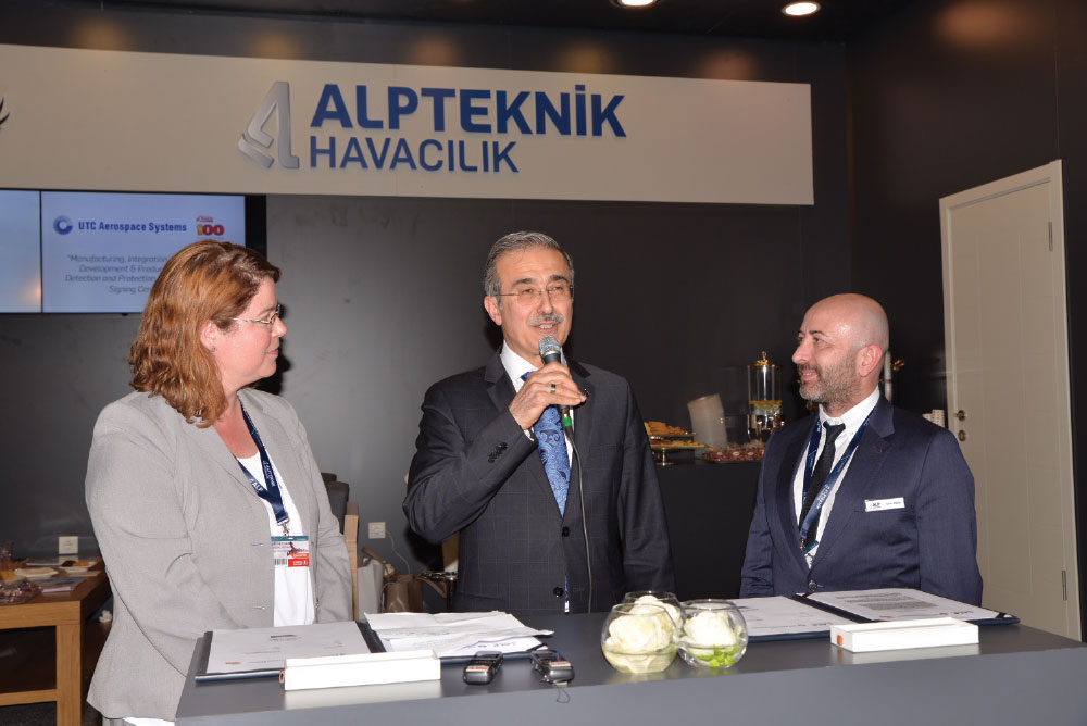 UTC Aerospace Systems Signed Agreement with ALP Aviation to Begin Phase Production of Kidde Fire Protection Systems in Turkey