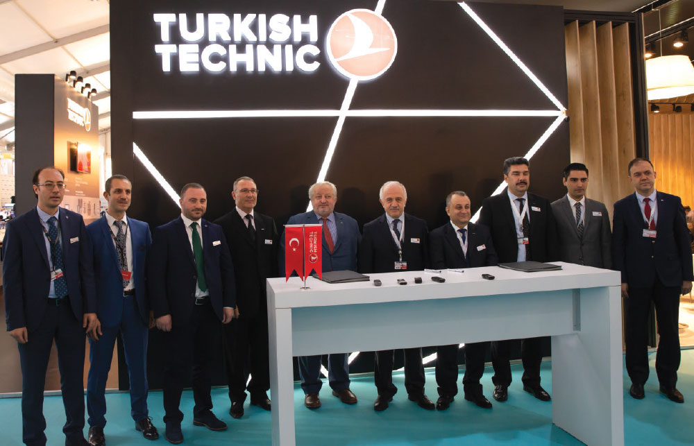 """Havelsan and Turkish Technic to Establish a Joint Venture Company for """"In-flight Entertainment Systems and Internet Service"""""""