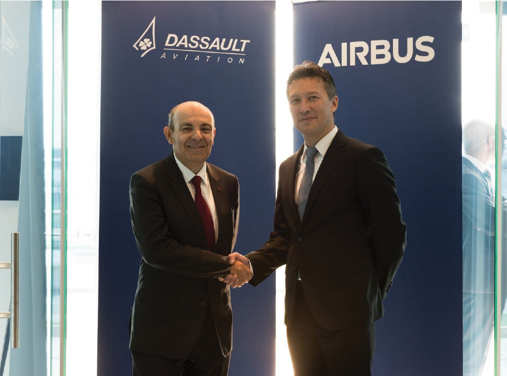 Airbus and Dassault Aviation Join Forces on Future Combat Air System