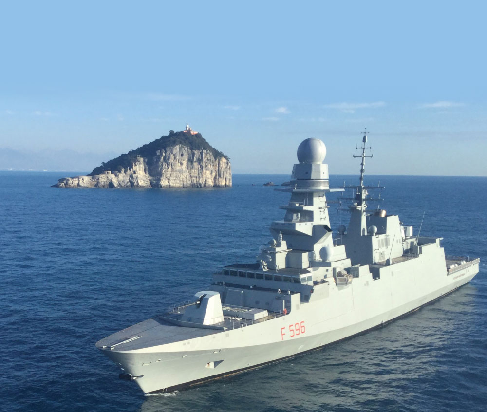 Federico Martinengo FREMM Frigate Delivered to Italian Navy; Powered by GE LM2500+G4 Marine Gas Turbine Propulsion System