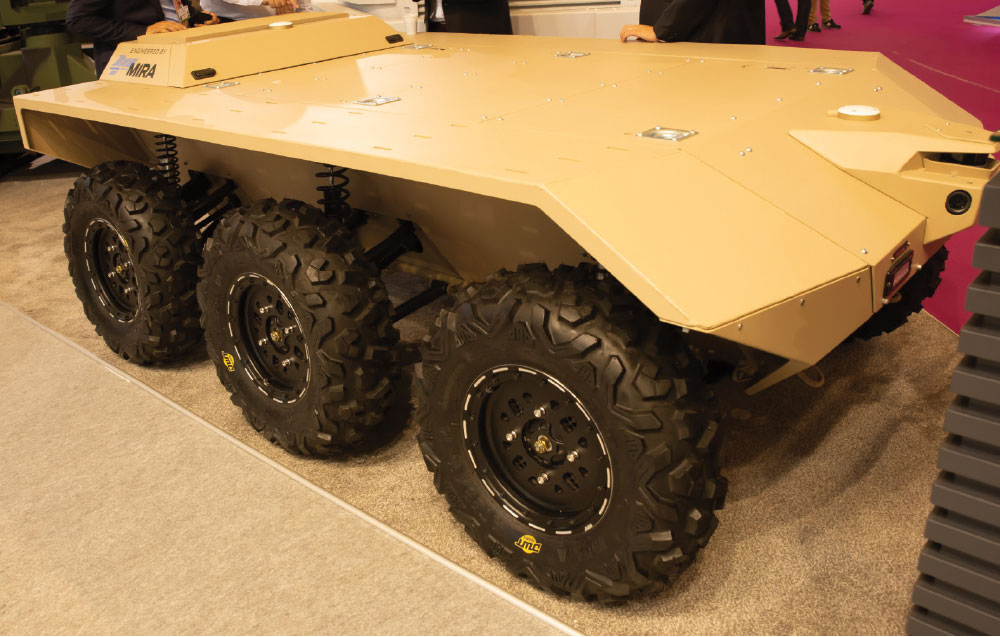 Katmerciler in Accompany with Savronik and Delta Ltd. Signed a Strategic Cooperation Agreement with UK Based Mira Company to Develop Unmanned Land Vehicles