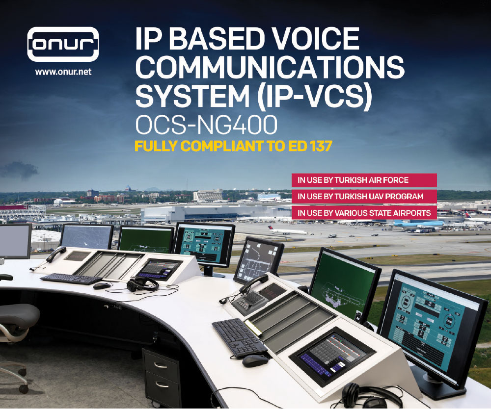 ONUR Expands Its Expertise with New State of the Art UAV Voice Communication (VCS) Solution