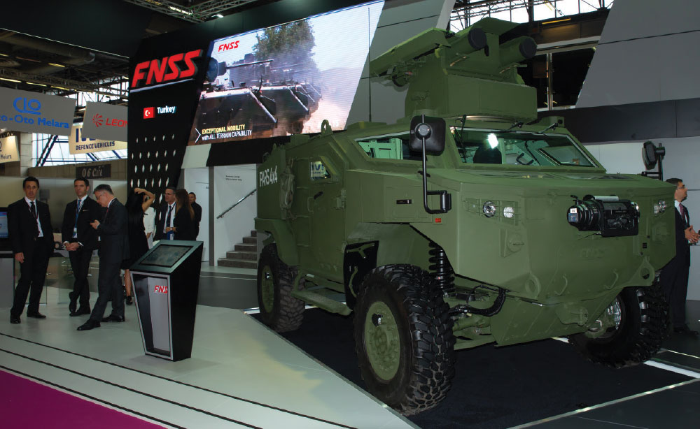 FNSS Launched PARS 4x4 Anti-Tank Vehicle Developed for ATV Project at Eurosatory 2018