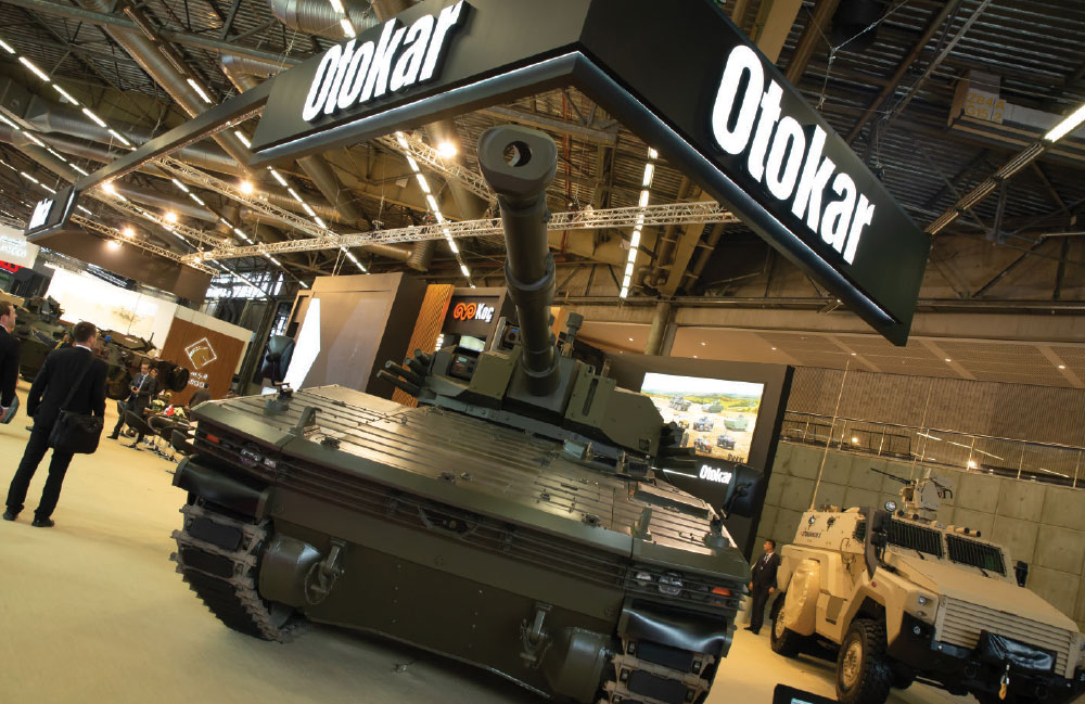 Otokar Debuted its Light Tank in Paris