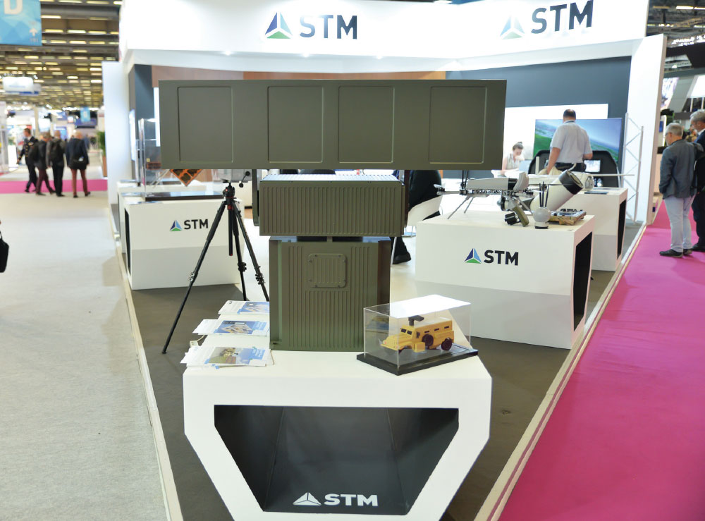 STM Unveiled 'Stand - Off Through the Wall Target Acquisition System' (UHTES) at 2018 Eurosatory