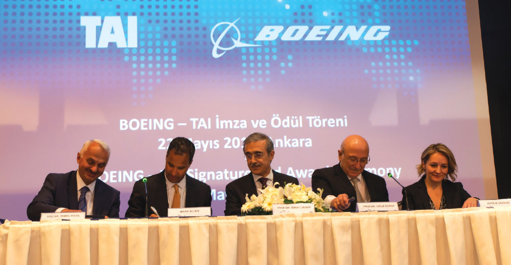 Boeing Awards Contract to Turkish Aerospace (TA) to Produce 737 MAX