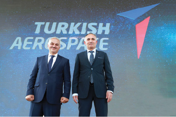 Turkish Aerospace Debuts New Logo