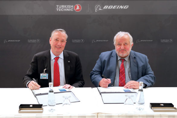 Boeing and Turkish Technic Announce Global Fleet Care Supplier Agreement
