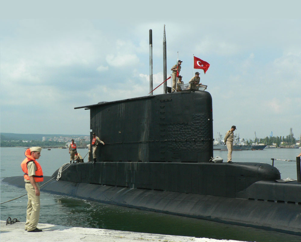 Aselsan's Submarine Intercept Sonar System ASIST Installed On-Board Three Ay Class Submarines