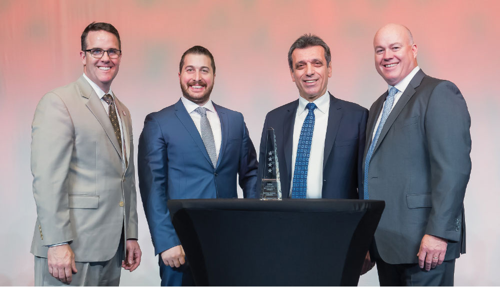 Roketsan and Raytheon Partnership Continues with Excellence Award