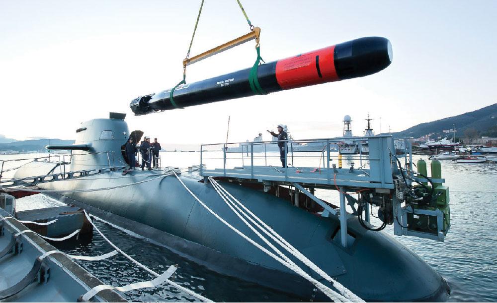 Leonardo to Supply the Next-Generation BSA Heavy Torpedo to the Italian Navy
