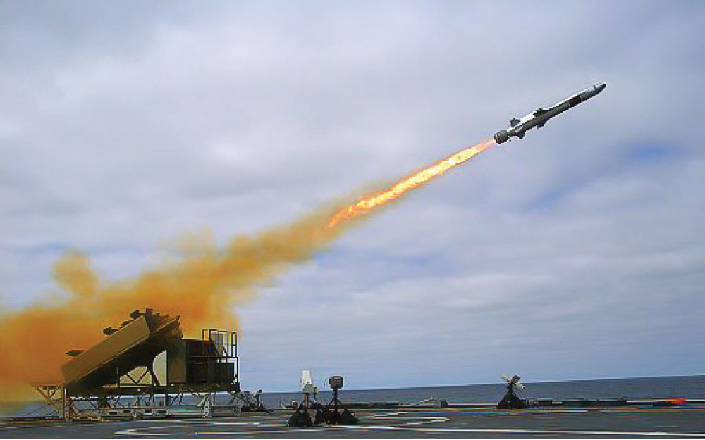 Contract Worth 200M NOK, Naval Strike Missile for Norway and Germany