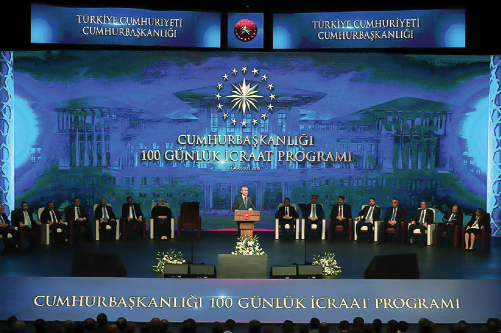 President ERDOĞAN Lays Out    100-Day Action Plan