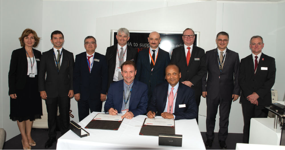 BNA and BAE Systems Signed a Contract at Farnborough Air Show
