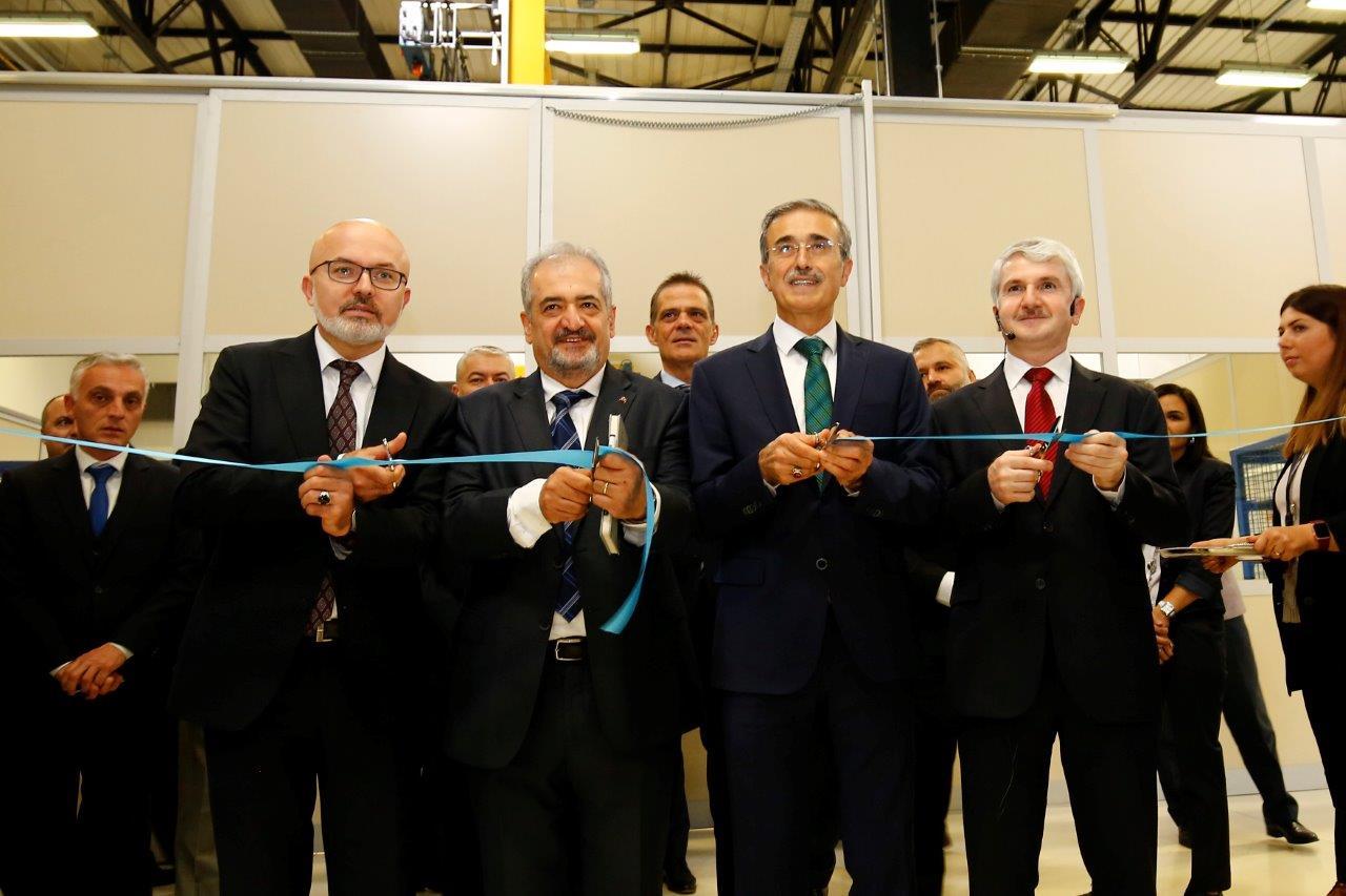 Savunma Sanayii Başkanı, TEI – Katmanlı İmalat Atölyesinin Açılışını Yaptı