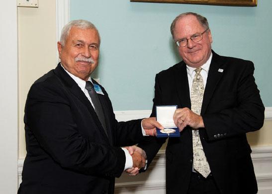 "Prof. Hüseyin Nafiz ALEMDAROĞLU Reveived the Most Prestigious ""The Von Karman"" Scientific Award of NATO"