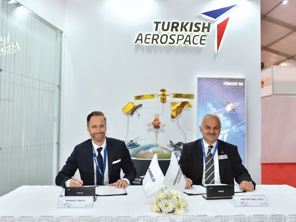 Turkish Aerospace and Airbus Signed Cooperation and Research Agreement to Develop Novel Aircraft Structures