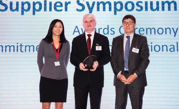 TEI Wins the Best Supplier Award Awarded as the World's Best Two Years in a Row