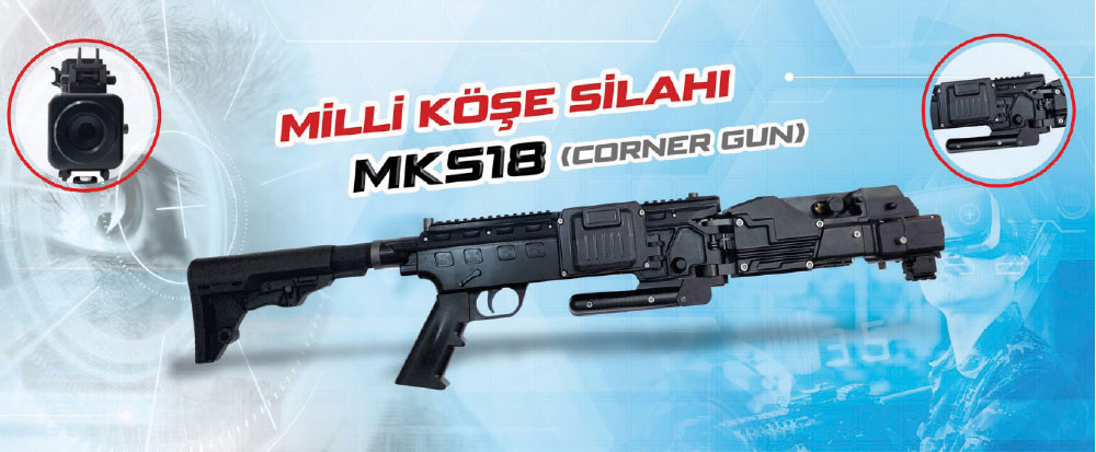 TG Elektronik's MKS18 Corner Gun Optimal Product for Turkish Special Forces with High Export Potential