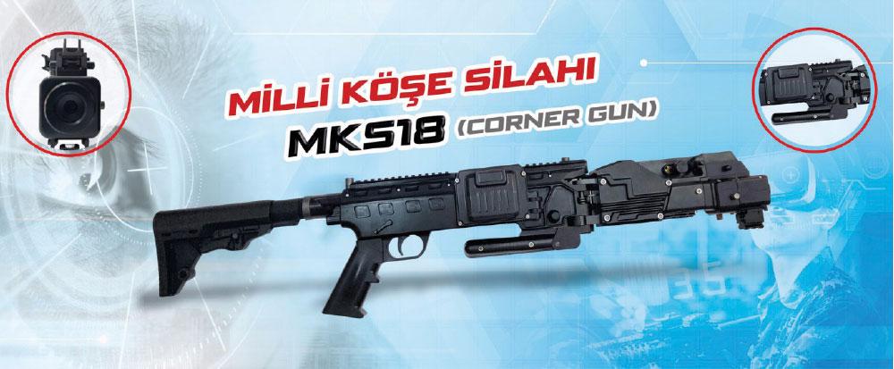 TG Elektronik MKS18 Milli Köşe Silahı Önemli İhracat Potansiyeli