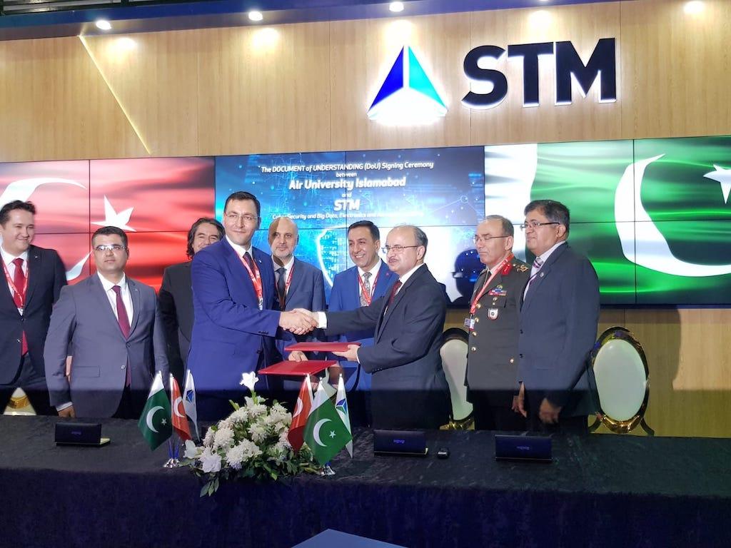 STM ile Pakistan Air University Arasında DoU (Ortak Anlayış Belgesi) İmzalandı.