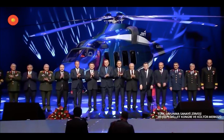 T625 Hafif Sınıf Genel Maksat Helikopterinin adı GÖKBEY oldu