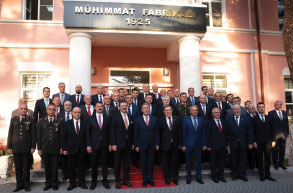 Minister of National Defence Convenes the TOBB Defence Industry Assembly in MKEK Factory