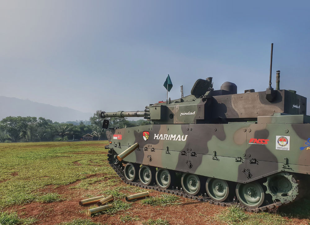 FNSS Showed off First Time its Medium Tank, Which is Ready for Serial Production, and its ZAHA Concept at INDO Defence