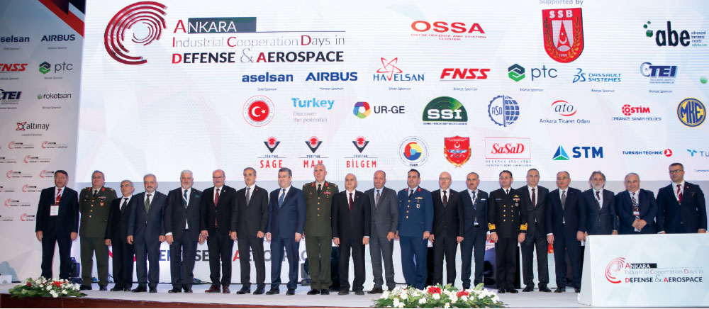 Fourth Industrial Cooperation Days in Defence and Aerospace - ICDDA 2018 Place in Ankara
