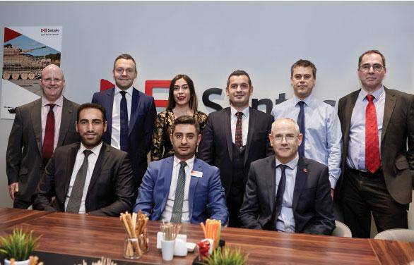 The Inauguration of David Brown Santasalo Turkey Office