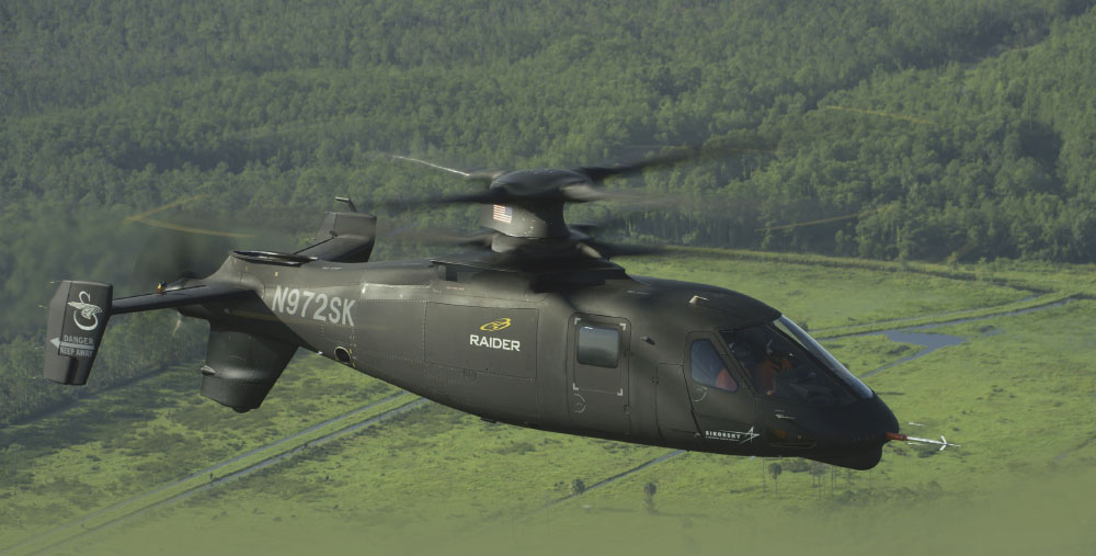 Sikorsky S-97 Raider Hits 202 KTS Through High Speed Propulsor Mode