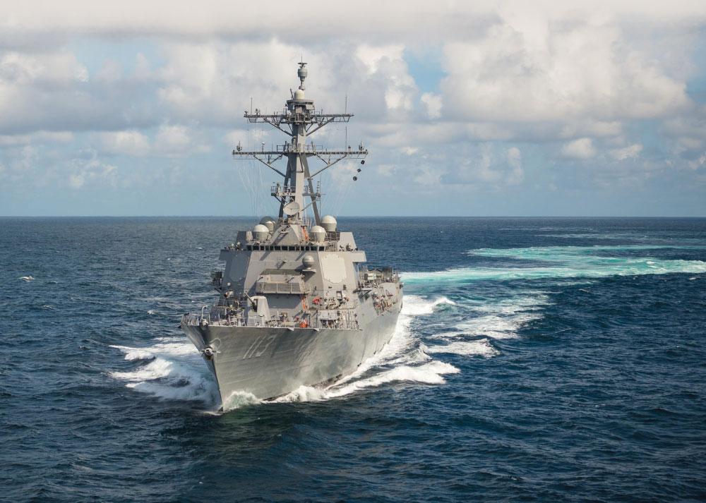 Aegis Combat System Demonstrates Success During At-Sea Test Against Medium Range Ballistic Missile
