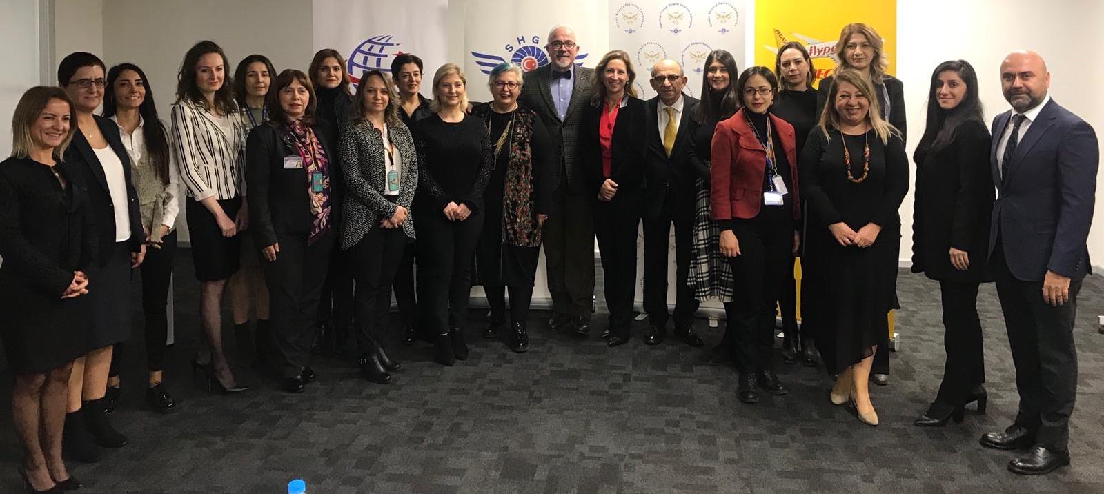 Sivil Havacılık Genel Müdürlüğü Toplumsal Cinsiyet Dengesi Geliştirme Komisyonu İstanbul`da Toplandı
