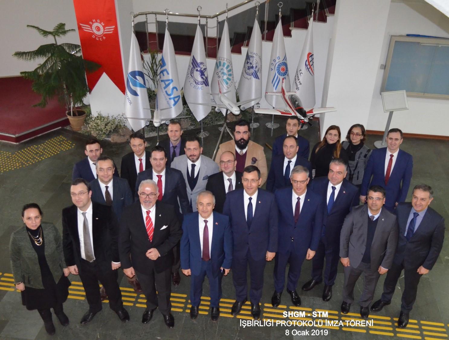 SHGM ile STM'den Çok Yönlü İşbirliği Anlaşması