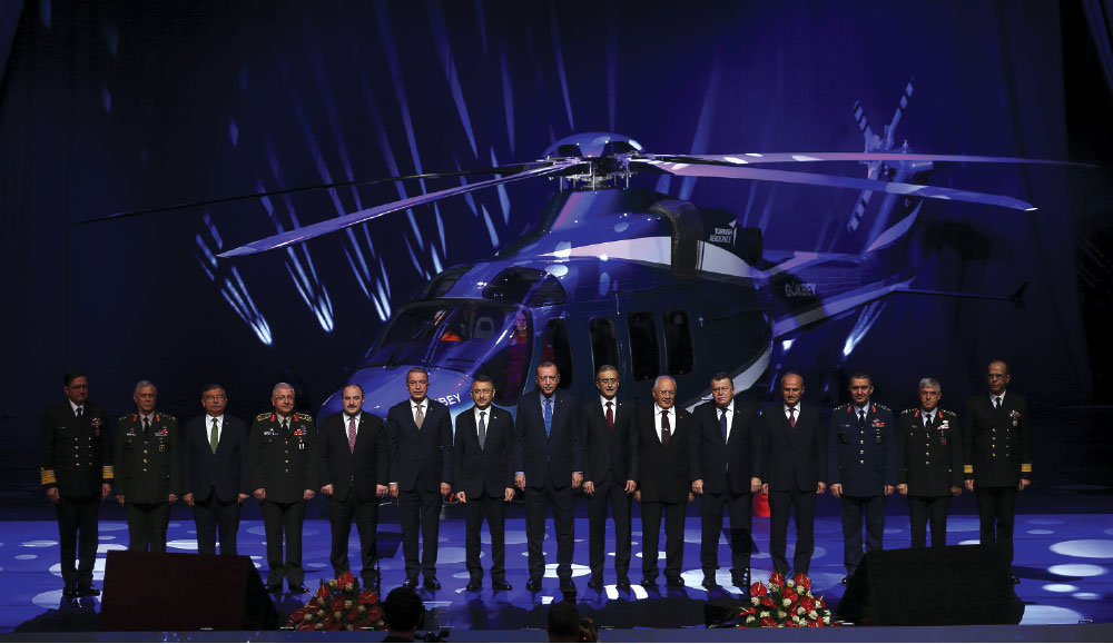 Turkish Defence Industry Summit Held on Presidential Complex