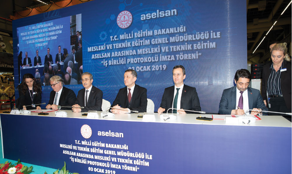 Vocational Training Cooperation Protocol Signed Between Aselsan and the Ministry of National Education General Directorate of Vocational and Technical Education