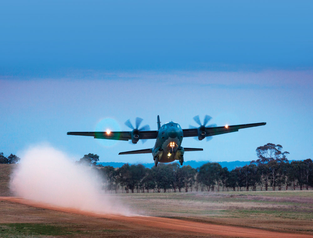 New C-27J Spartan Baseline Configuration Performed First Flight