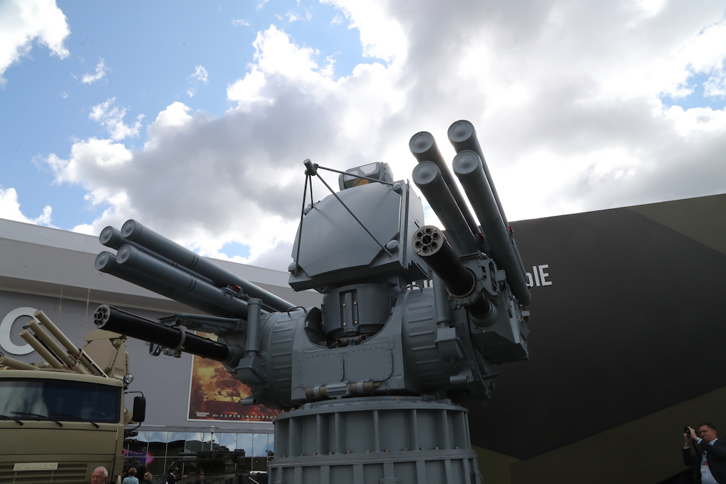 Russia will Display first time Naval Pantsir at IDEX 2019