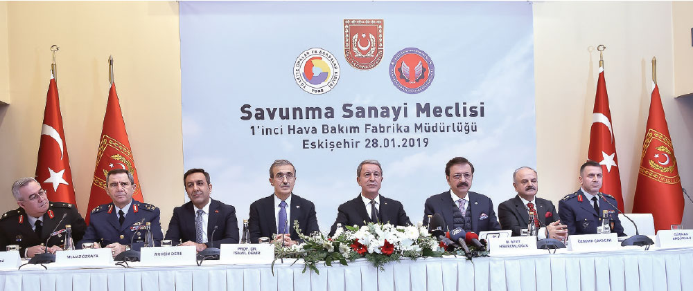 The 39th TOBB Turkish Defence Industry Assembly Meeting Held in Eskisehir